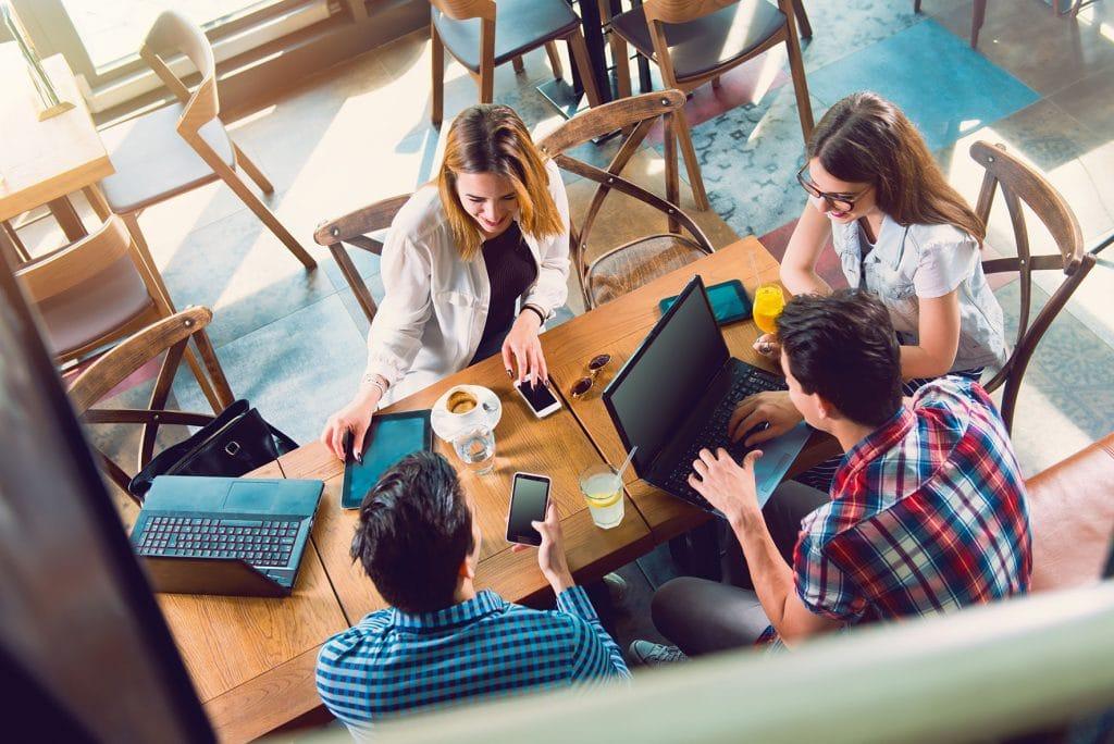 Moderne Teamarbeit gestaltet mit Microsoft 365 und Keepsmile Design, Castrop-Rauxel