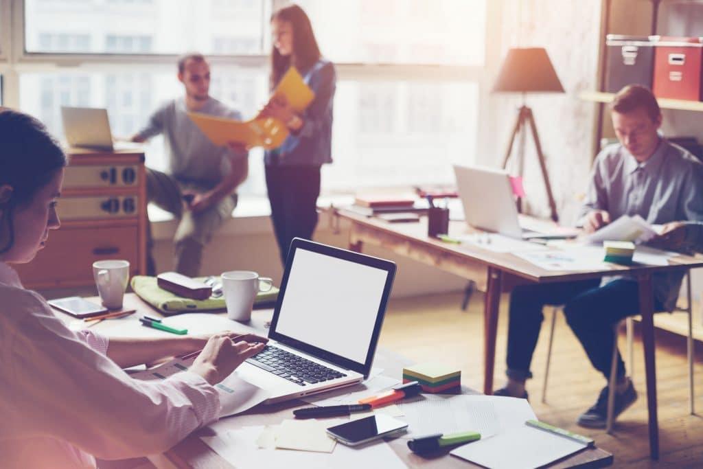 Moderne Teamarbeit gestaltet mit Office 365 und Keepsmile Design, Castrop-Rauxel