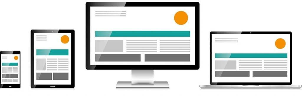 Bild responsives Webdesign von Keepsmile Design, Castrop-Rauxel zwischen Dortmund, Herne und Bochum