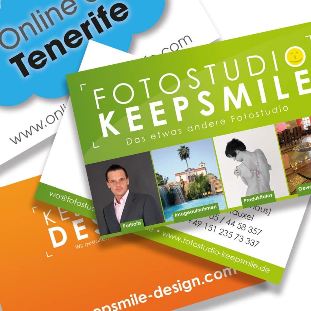 Visitenkarten Business Cards Keepsmile Design