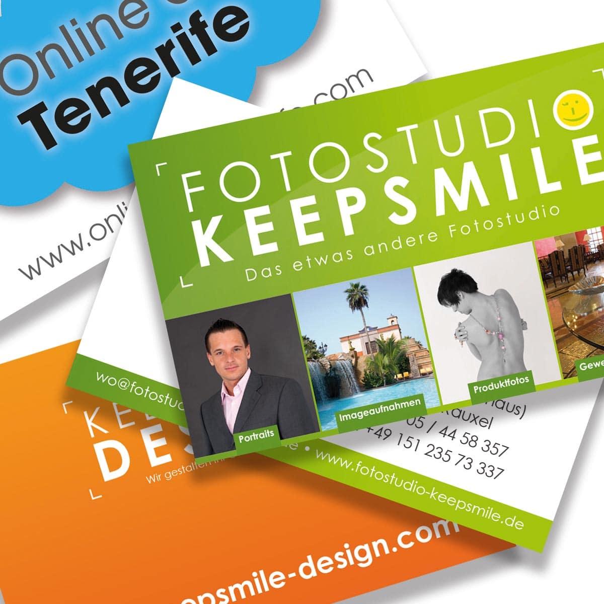Visitenkarten Business Cards Keepsmile Design