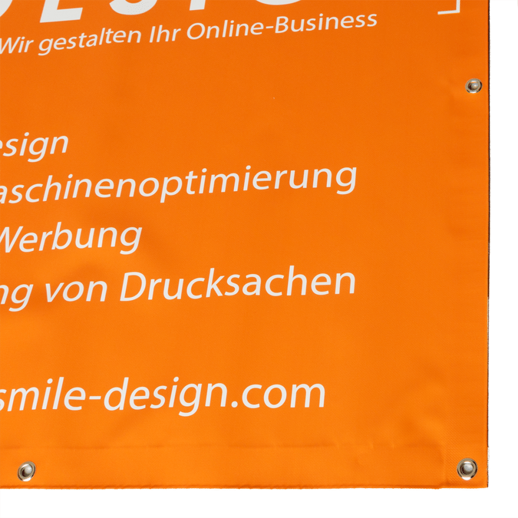 PVC-Werbebanner / PVC-Planen bei Keepsmile Design in Castrop-Rauxel