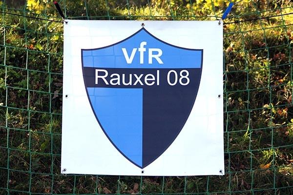 PVC Werbebanner VfR Rauxel 08 Castrop-Rauxel