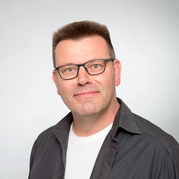 Uwe Wortmann, Inhaber von Keepsmile Design, Castrop-Rauxel