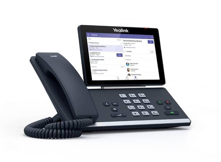 IP-Telefon von Yealink T58A für Microsoft Teams bei Keepsmile Design