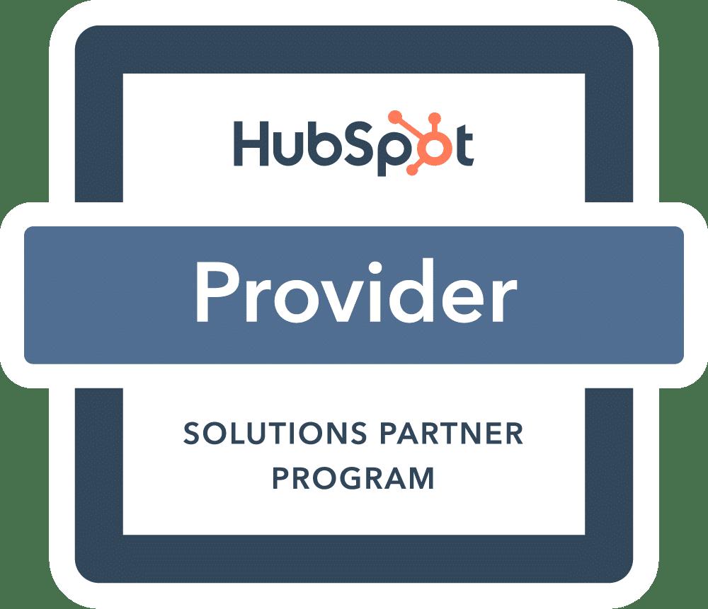 Logo HubSpot - Keepsmile Design ist Partner von HubSpot
