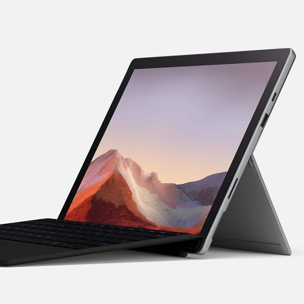 Microsoft Surface Pro 7+ bei Keepsmile Design, Castrop-Rauxel (Ruhrgebiet)