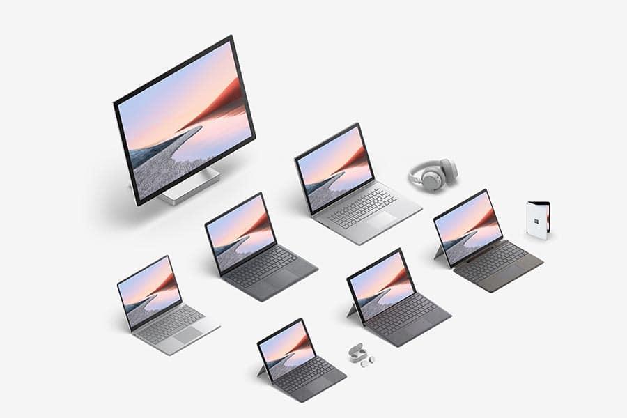 Microsoft Surface bei Keepsmile Design, Castrop-Rauxel (Ruhrgebiet)