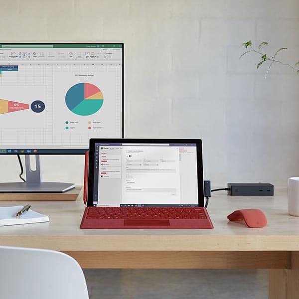 Arbeiten wo Sie möchten mit Surface-GEräten und LTE bei Keepsmile Design, Castrop-Rauxel