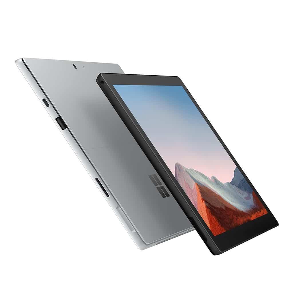 Microsoft Surface Pro 7+ in schwarz oder Platin bei Keepsmile Design, Castrop-Rauxel (Ruhrgebiet)