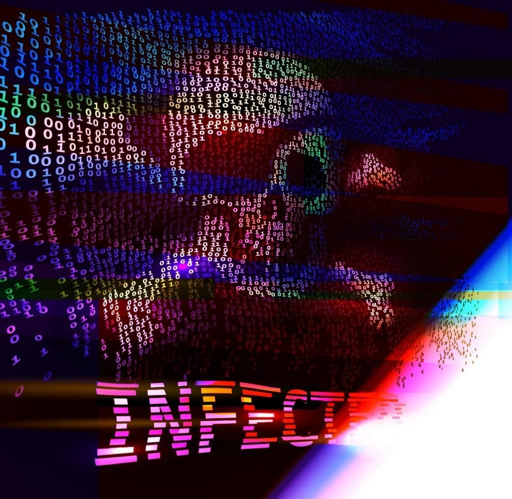 Ransomware infizieren und verschlüsseln Computer