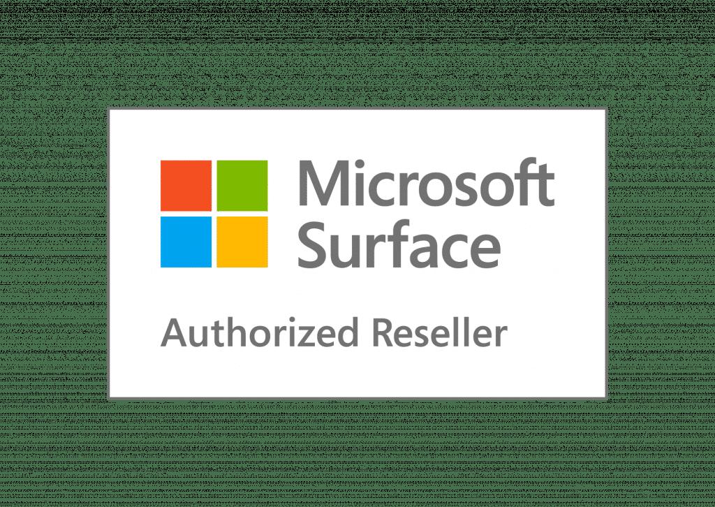 Microsoft Surface Authorized Reseller Logo - Keepsmile Design