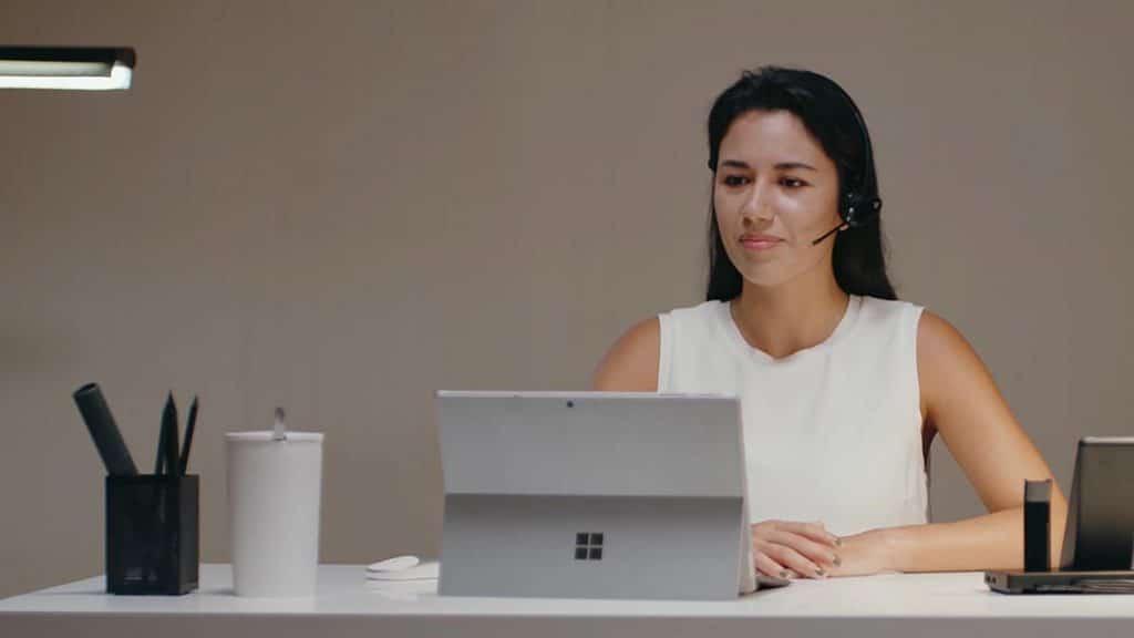 Headset von Yealink WH67 mit Microsoft Surface - Beratung und Verkauf bei Keepsmile Design, Castrop-Rauxel