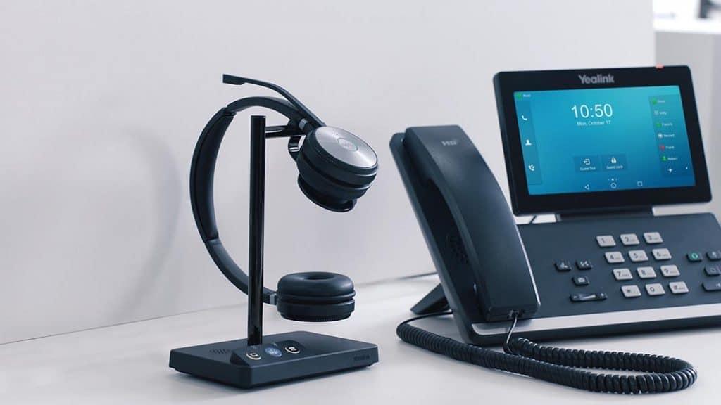 Headset von Yealink WH62 mit IP-Telefon - Beratung und Verkauf bei Keepsmile Design, Castrop-Rauxel