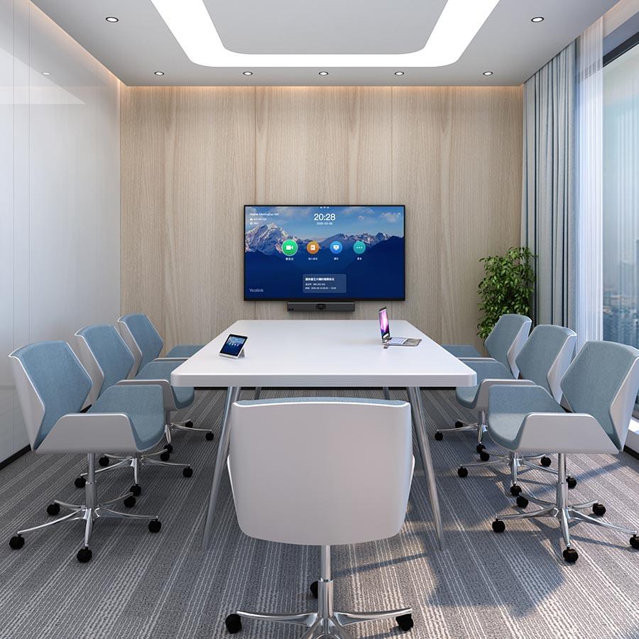 kleiner Konferenzraum mit MeetingEye400 von Yealink - Beratung/Verkauf Keepsmile Design